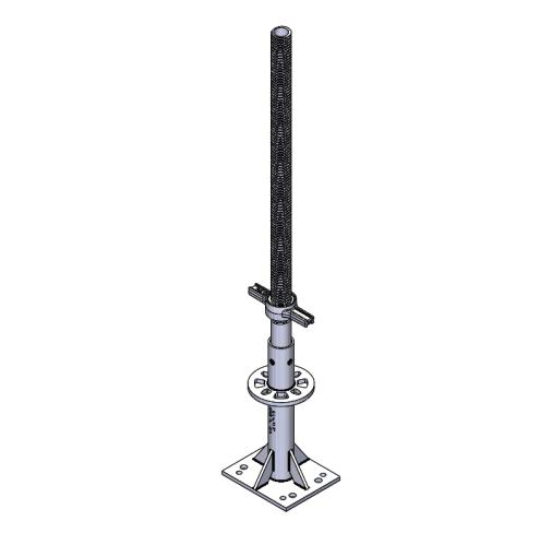 Adjustable Caster Adapter