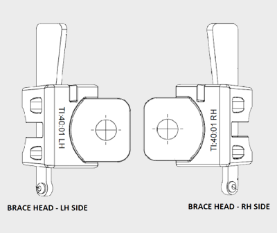 Techring Brace Head with Wedge Riveted